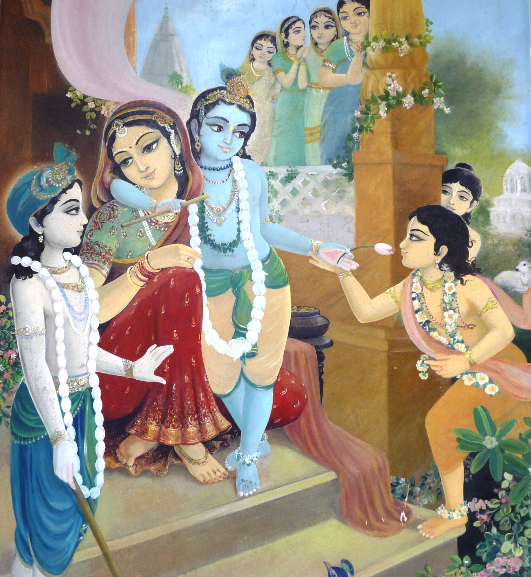Krishna-Yasoda-and-gopis2