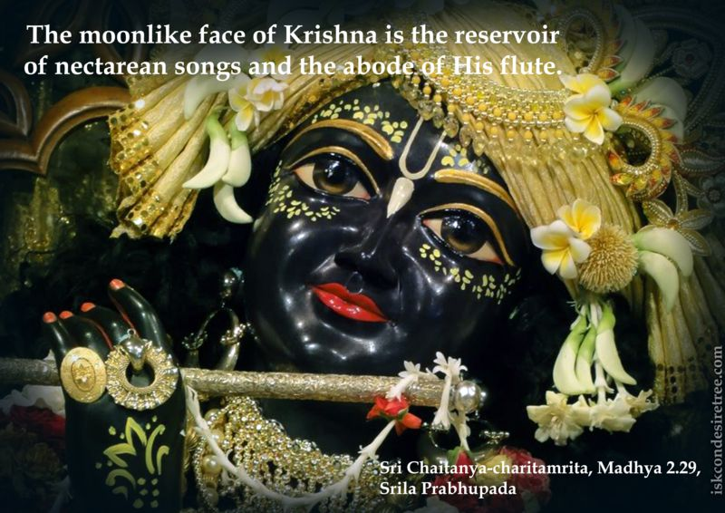 Quotes-by-Srila-Prabhupada-on-Moonlike-Face-of-Lord-Krishna